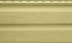 Панель виниловая Альта-Сайдинг лимонная, 1,83м